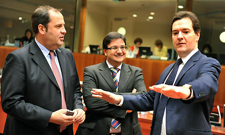 (L-R) Austrian Federal Finance Minister