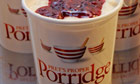 Pret A Manger's porridge