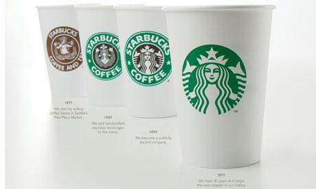 Starbucks - 2011 logo changes