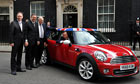 David Cameron welcomes Mini investment