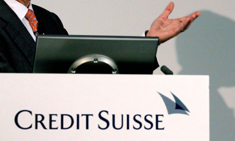 Credit Suisse CEO Brady Dougan announced 2,000 job cuts