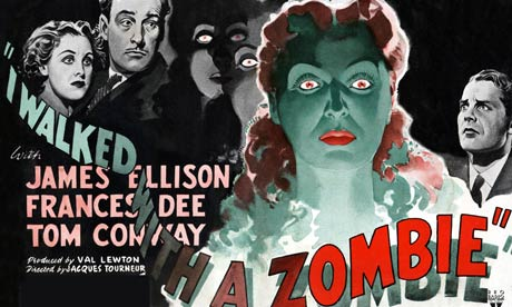 Film poster for I Walked With a Zombie