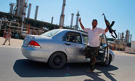 Libyan rebels seized full control of the Zawiyah oil refinery last week