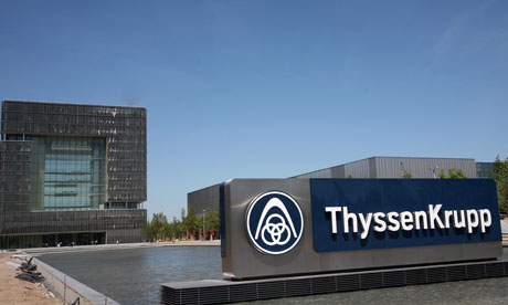 Americas hamper effort to recast Thyssen