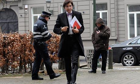 Belgium's PM Elio Di Rupo