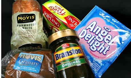 Premier Foods brands - Hovis, Branston pickle, Mr Kipling