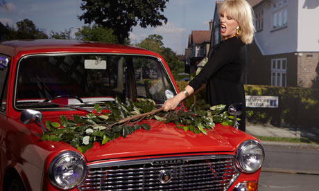 Joanna Lumley launches YouView from TalkTalk, September 2012