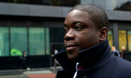 Former UBS banker Kweku Adoboli. Source: guardian.co.uk