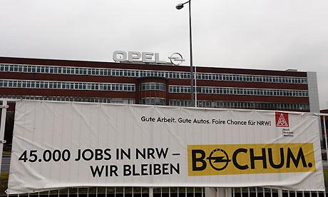 Opel factory in Bochum