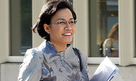 Sri Mulyani Indrawati You Must Make Growth Inclusive You Have To Protect The Poor