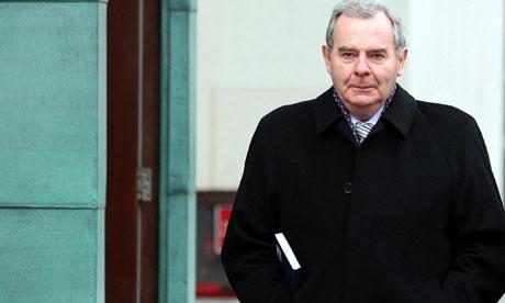 Sean Quinn outside Belfast High Court