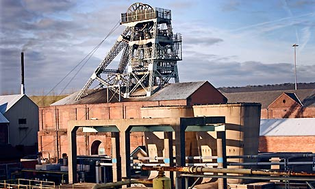 UK Coal's Thoresby colliery in Nottinghamshire