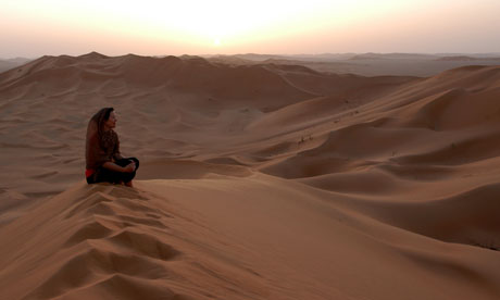 Kari Herbert in the Empty Quarter