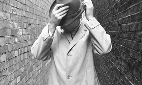 A photoshoot for Aquascutum menswear, 1960