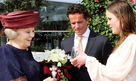 Queen Beatrix of the Netherlands.