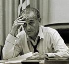 President Lyndon Johnson.