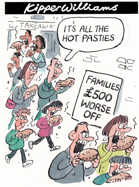 Kipper Williams on news families £500 worse off