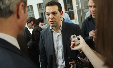 Alexis Tsipras Speaks In Berlin