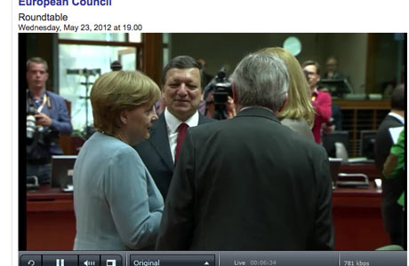 EU leaders meeting in Brussels ahead of informal summit, May 23rd
