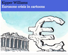 Kipper Williams eurozone crisis cartoon round-up.