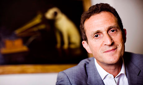 HMV chief executive Simon Fox