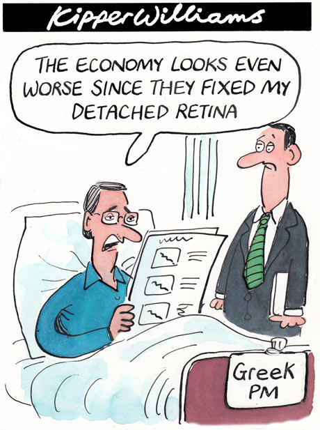 Kipper Williams on Greece