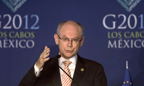Herman Van Rompuy of the European Council