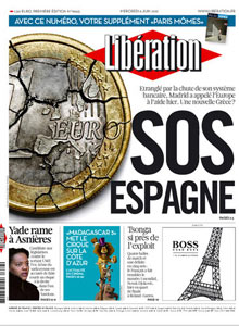 Liberation front page June 6th 2012.