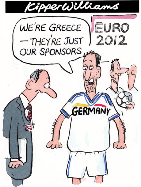 Kipper Williams on Euro 2012