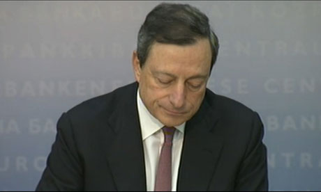 Mario Draghi of the ECB.