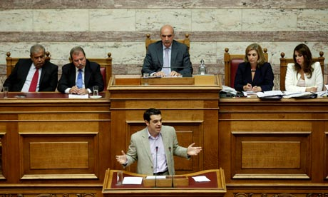 Alexis Tsipras of Syriza