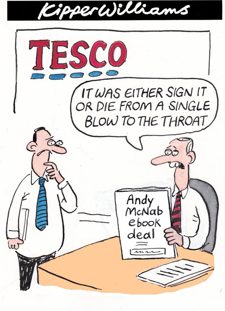 Kipper Williams on Tesco and Andy McNab