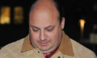 Bogus property developer Achilleas Kallakis leaving Southwark crown court