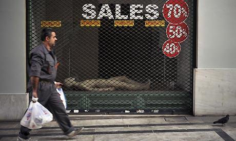 Athens recession