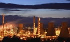 Grangemouth chemical plant