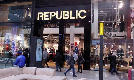 Fashion chain Republic set to enter administration