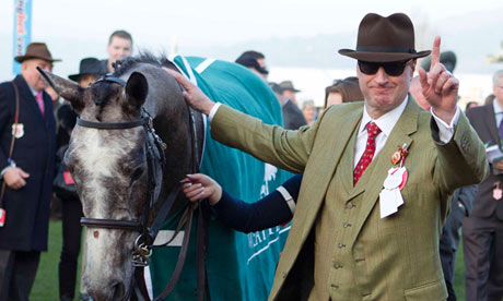 Barclays banker Rich Ricci at the Cheltenham festival