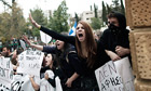 Cypriot students protest