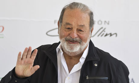 Mexican tycoon Carlos Slim remains the world's richest man