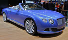 A 2014 Bentley car on display at the 113th New York Auto Show