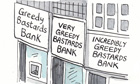 Kipper Williams on 'greedy bastard' banks