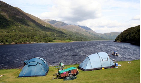 10 of the best uk campsites travel the guardian for Good place to fish near me