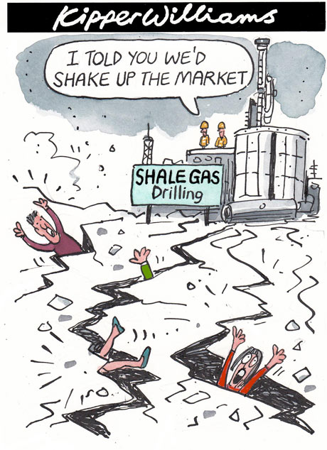 Shale Gas Drilling: I told you we'd shake up the market