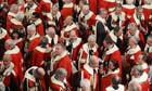 Peers leave the House of Lords in 2012
