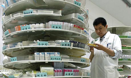 China hospital pharmacy
