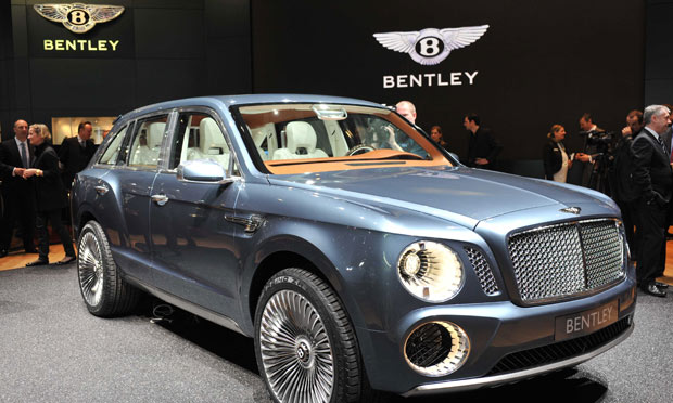 Bentley To Build Suv In Crewe Business The Guardian