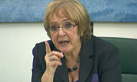 Margaret Hodge at the Commons Public Accounts Committee
