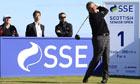 Sam Torrance at the SSE Scottish Senior Open