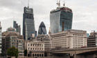 City of London - the Cheesegrater and the Walkie Talkie