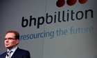 BHP Billiton CEO Andrew Mackenzie